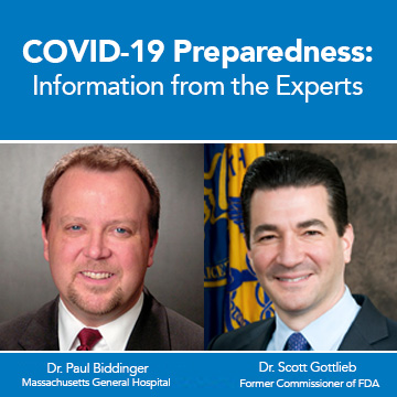 Dr. Paul Biddinger Shares Three Ways to Prepare for COVID-19